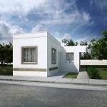 Casas en Venta en Juárez, Fraccionamiento Villas Anzures, Modelo Alcalá