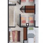 Casas en Venta en Escobedo, Fraccionamiento Villas Mirasur, Modelo Castilla II