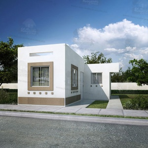 Casas en Ramos Arizpe – Modelo Alcalá