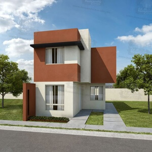 Casas en  Apodaca – Modelo Castilla III