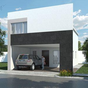 Casas en  Escobedo – Modelo Ibiza VI
