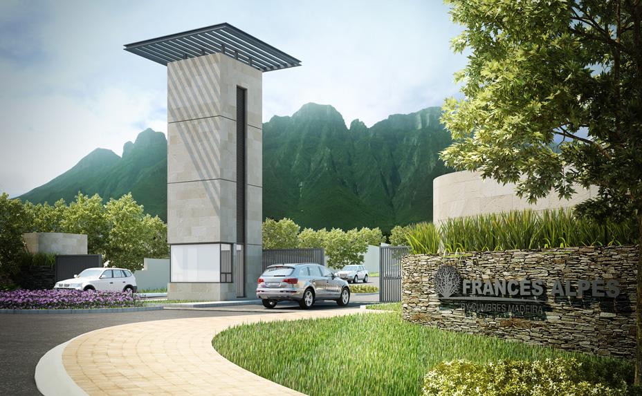 Casas en cumbres Monterrey - Acceso - Cumbres Madeira Francés