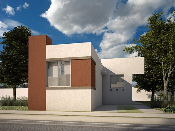 Casas en García - Modelo Alcala VII - Fraccionamiento Vistabella