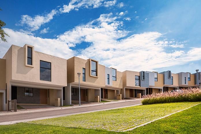 Casas en Querétaro - Fachadas - Antalia Residencial