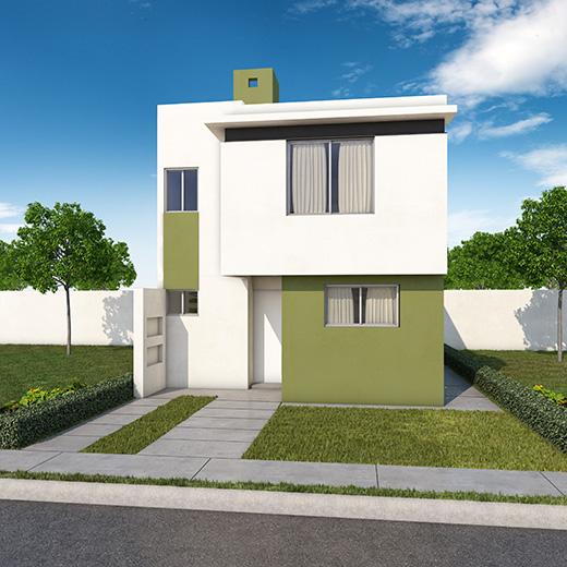 Casas en guadalupe nuevo le n paseo amberes for Fachadas de casas modernas en queretaro