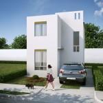 Casas en Venta en Reynosa, Fraccionamiento Santa Fe, Modelo Marsella