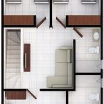 Casas en Cumbres - Modelo Ibiza - Planta Alta - Cumbres San Agustín