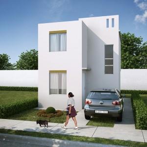 Casas en Venta en Monterrey, Fraccionamiento Arcadia, Modelo Marsella