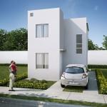 Casas en Venta en Juárez, Fraccionamiento Villas Anzures, Modelo Marsella