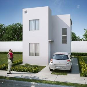 Casas en Venta en Juárez, Fraccionamiento Villaluz, Modelo Marsella