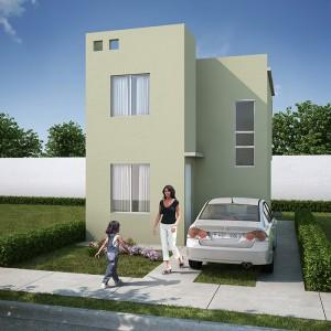 Casas en  Juárez – Modelo Marsella