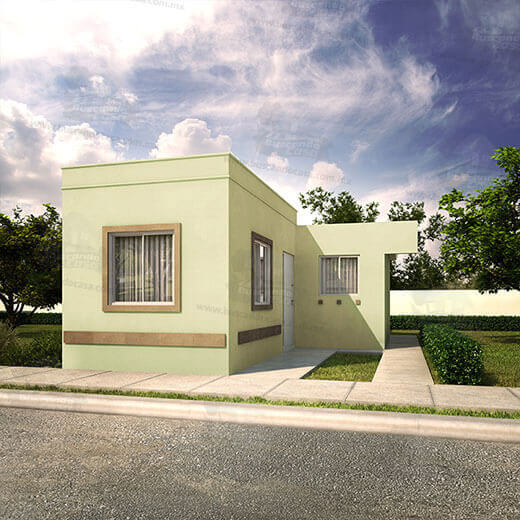 Casas en Ramos Arizpe - Lisboa II - Fraccionamiento Villasol