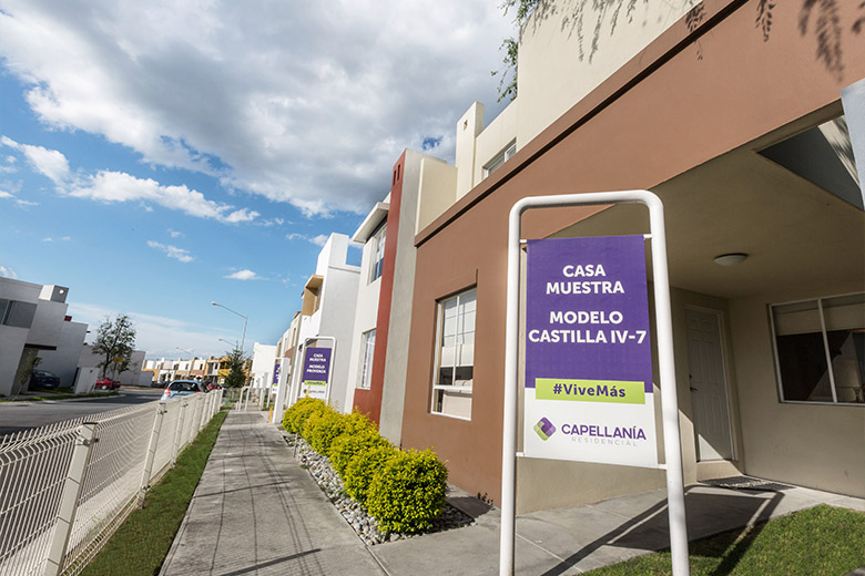 Casas en Apodaca - Modelo Castilla IV-7 - Capellanía Residencial