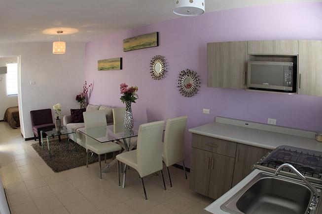 Casas en Pesquería - Cocina y comedor - Villas Regina