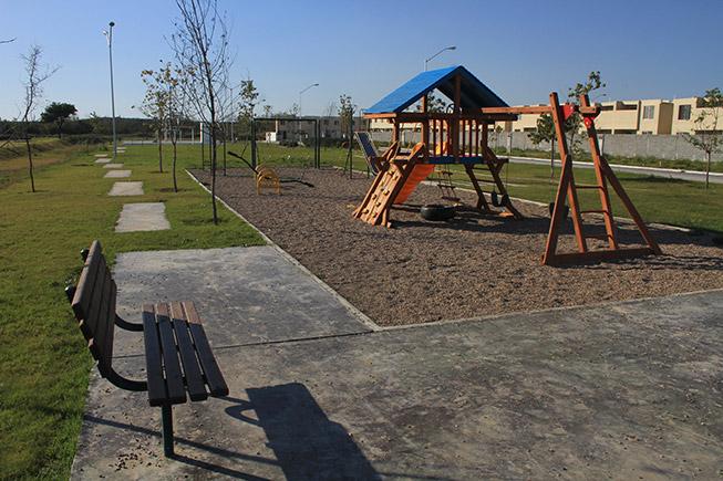 Casas en Pesquería - Juegos infantiles - Villas Regina