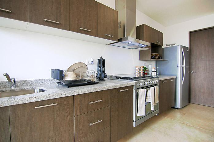 Casas en Querétaro - Cocina - Alanna Residencial